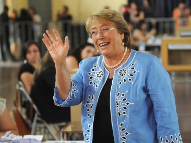 Michelle Bachelet [Reuters]