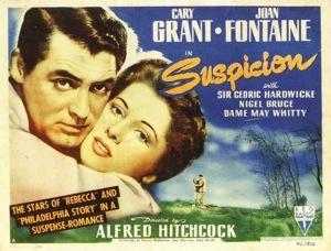 Cary Grant e Joan Fontaine. Atriz Joan Fontaine foi a estrela de alguns clássicos de Alfred Hitchcock, morreu aos 96 anos