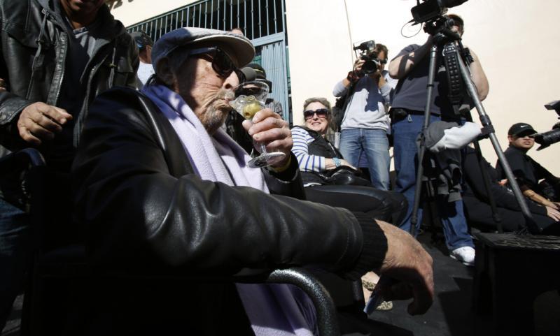 Paul Mazursky recebe estrela no Passeio da Fama Foto: Reuters