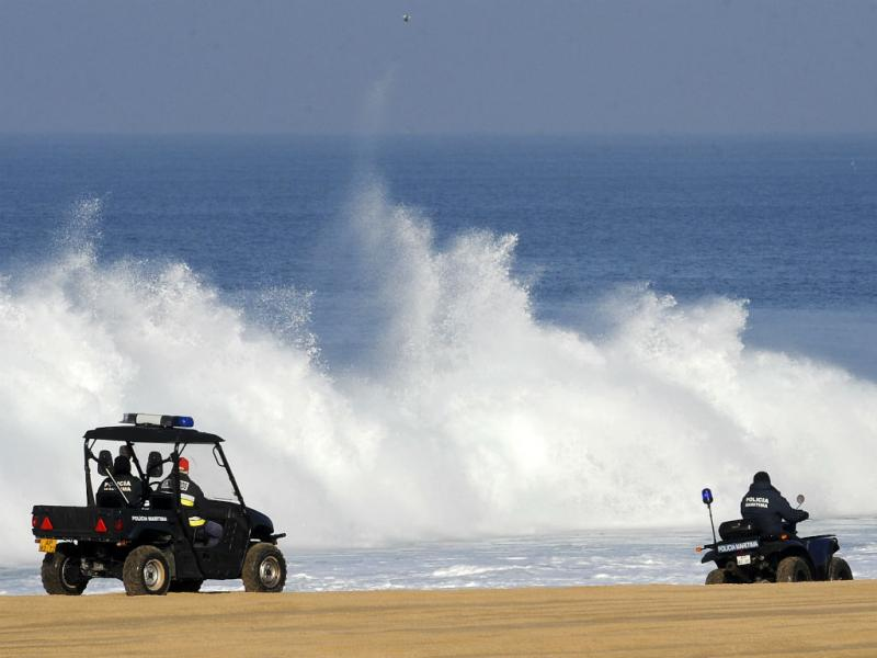 Buscas na praia do Meco (Lusa)