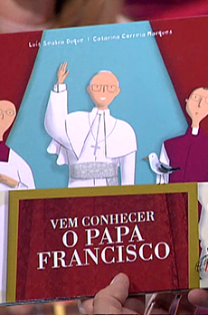 Os livros de Marcelo Rebelo de Sousa «Vem conhecer o Papa Francisco»