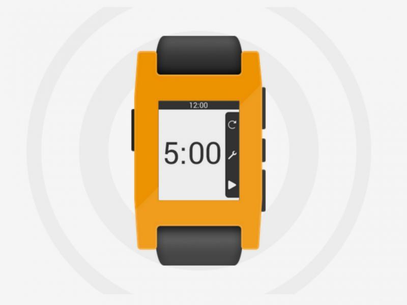 Pebbe Smartwatch (Reprodução / getpebbe.com)