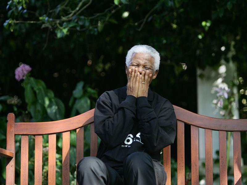 Nelson Mandela, presidente sul-africano, morreu a 5 de dezembro de 2013 (Reuters)