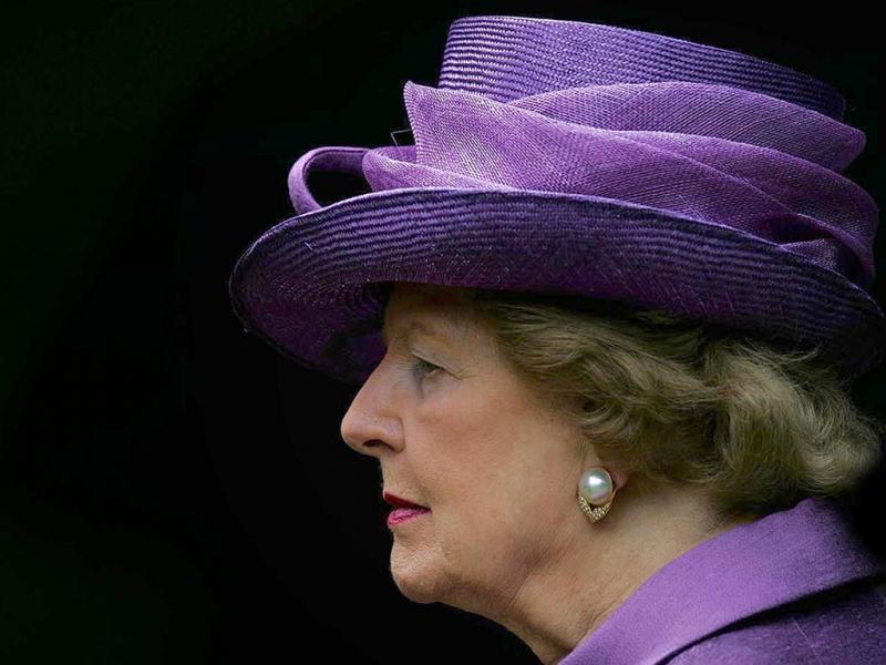 Margareth Thatcher, morreu a 8 de abril de 2013 (Reuters)