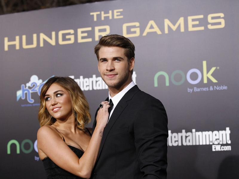 As separações de 2013: Liam Hemsworth e Miley Cyrus (Reuters)