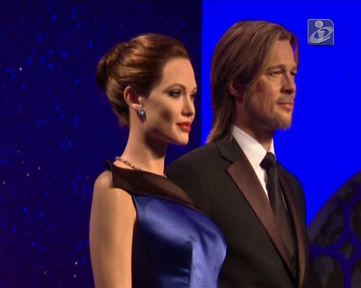 Figuras de cera do casal Pitt/Jolie foram atualizadas