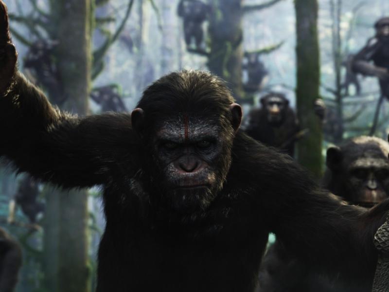 «Planeta dos Macacos:  A Revolta»