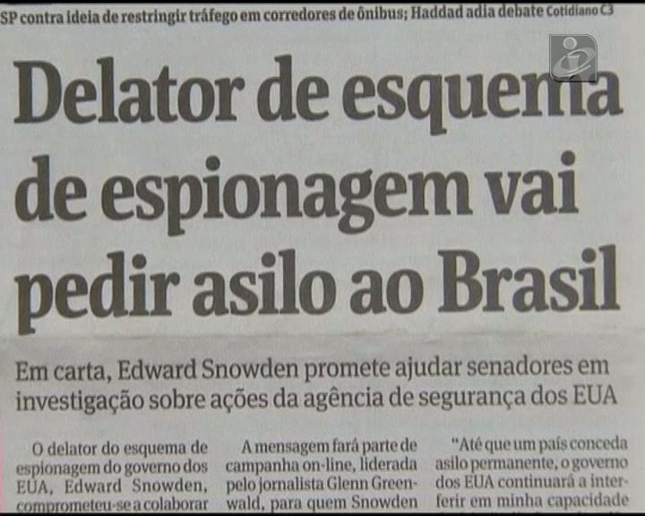Brasil fecha a porta a Snowden