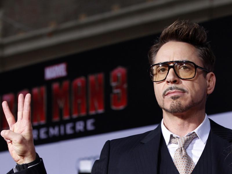 2. Robert Downey Jr. (Reuters)