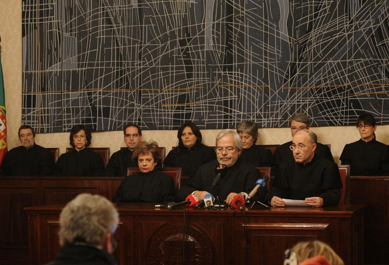 Juízes do Tribunal Constitucional (Lusa)