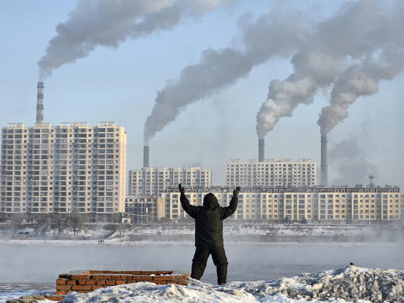 Poluição na China continua a aumentar  (REUTERS)