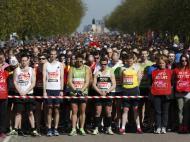 Abril: silêncio sentido na maratona de Londres, uma semana depois dos atentados de Boston