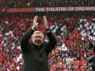 Maio: Sir Alex Ferguson despede-se de Old Trafford