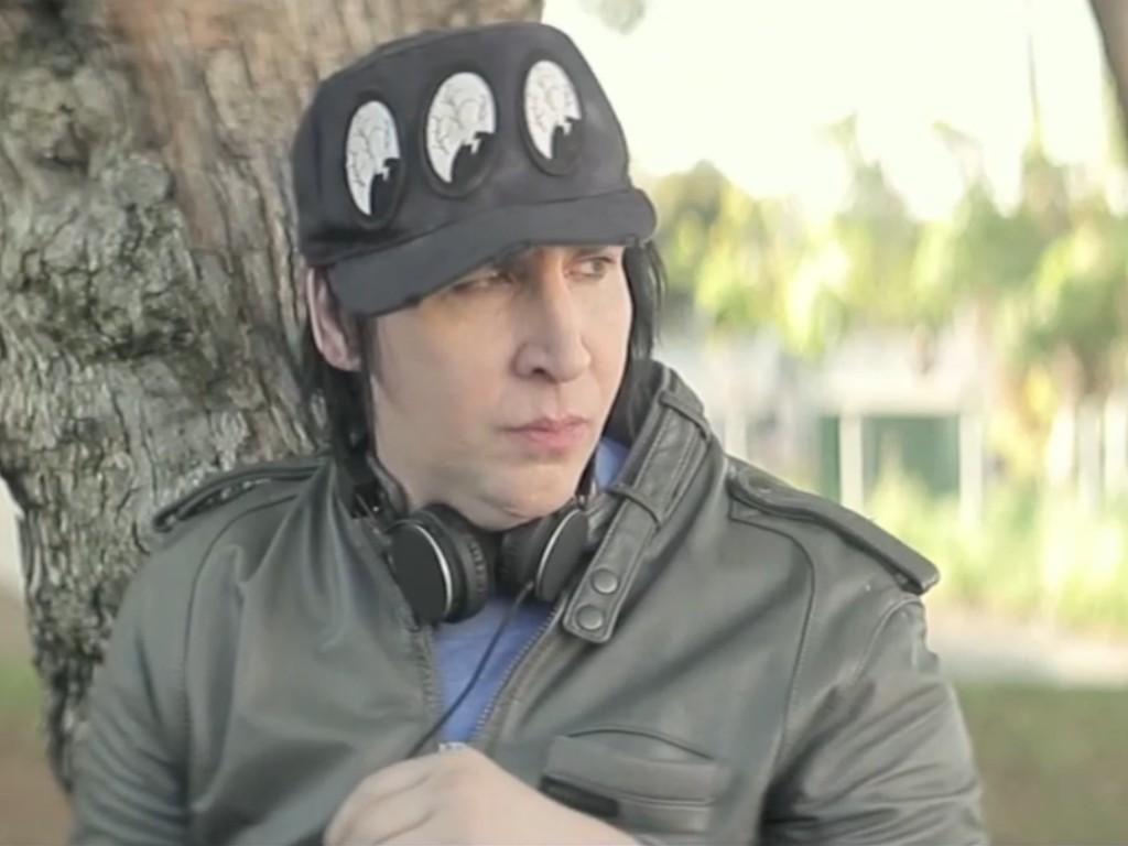 Marilyn Manson em «Wrong Cops»