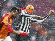 Dezembro: na despedida de Inverno da Liga dos Campeões, o Galatasaray-Juventus foi assim