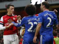 Arsenal vs Chelsea (REUTERS)