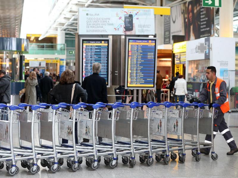 Greve da Groundforce não afetou ritmo no aeroporto (Lusa)