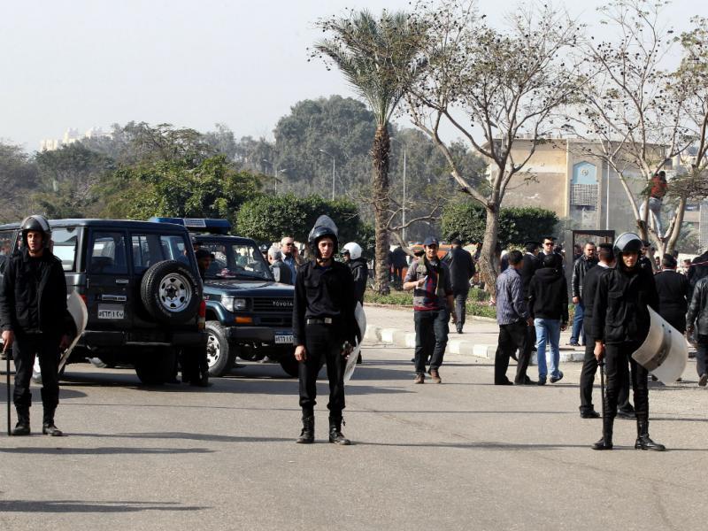 Explosão em autocarro no Cairo (Lusa)