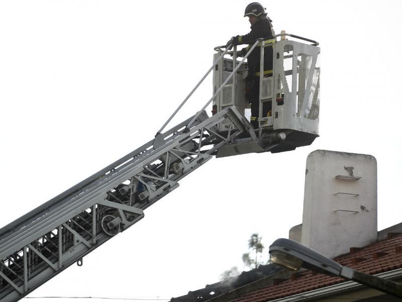 Incêndio em vivenda do Restelo faz um ferido (LUSA)