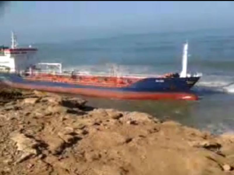 Marrocos pede ajuda a Espanha para desencalhar petroleiro