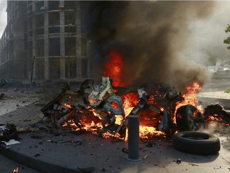 Atentado à bomba em Beirute (Reuters)