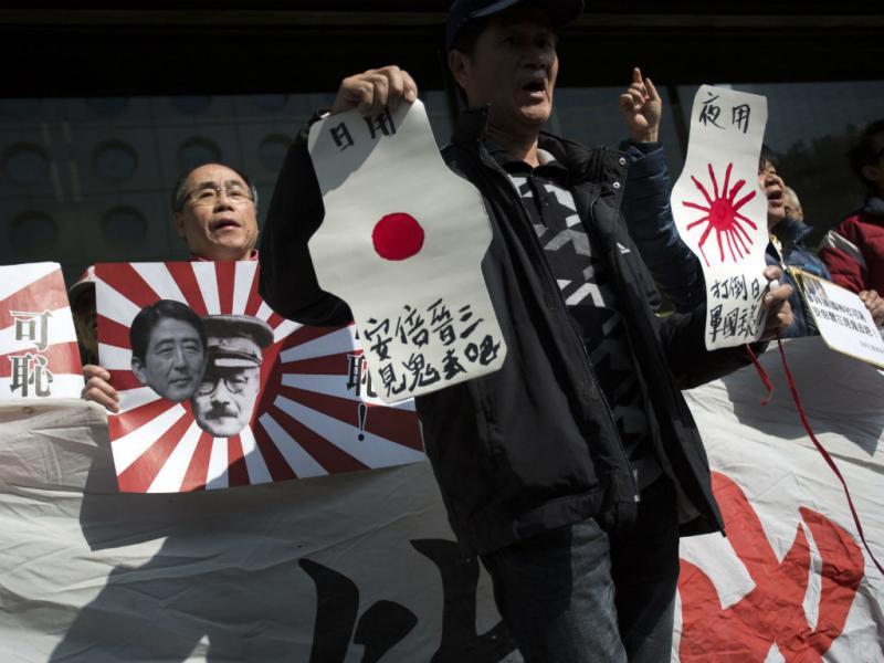 Chineses e sul-coreanos saem às ruas para protestar contra Japão (Lusa)