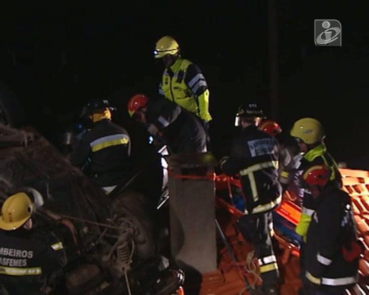 Acidente em Coimbra provocou dois mortos