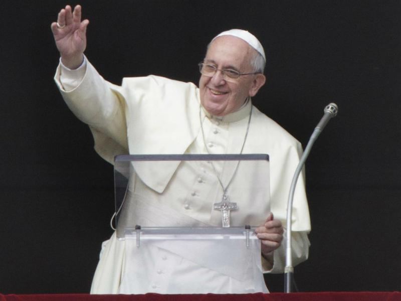«José, Maria e Jesus» foram migrantes, lembrou hoje o Papa Francisco (Lusa/EPA/FABIO FRUSTACI)