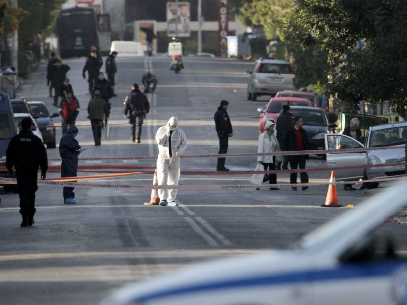 Casa do embaixador da Alemanha em Atenas foi alvejada (Lusa/EPA)