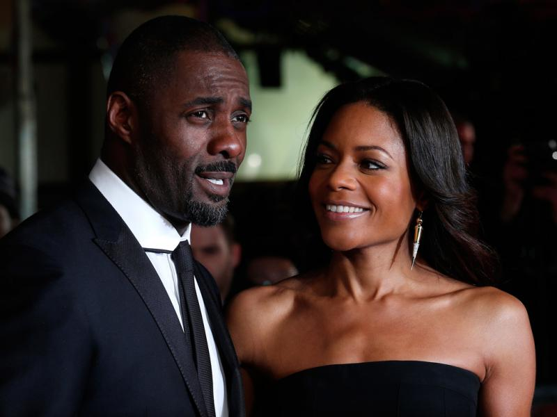 Idris Elba e Naomie Harris (Reuters)