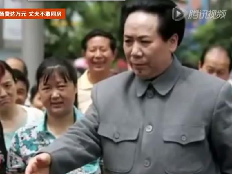 Sósia de Mao Tsé-Tung (Reprodução / Youtube / Hdfr046)