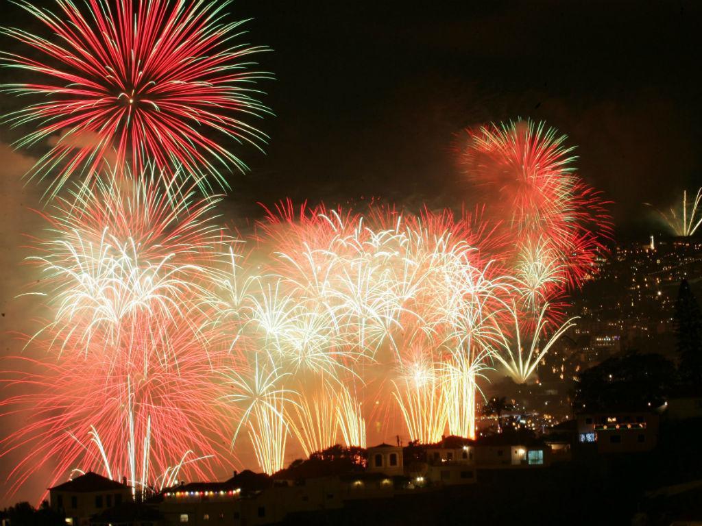 Fogo de artifício na Madeira (LUSA)