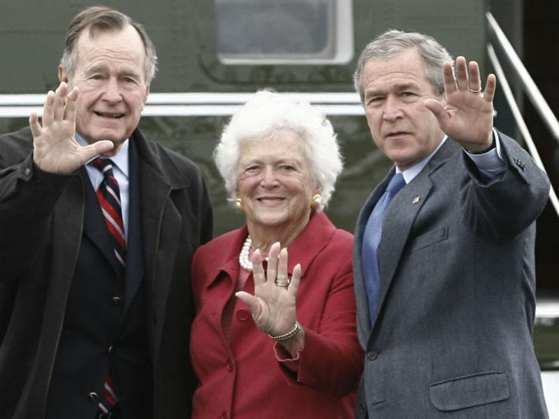 Barbara Bush (Reuters)