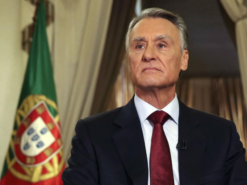 Cavaco Silva durante a mensagem de Ano Novo (LUSA/Inácio Rosa)