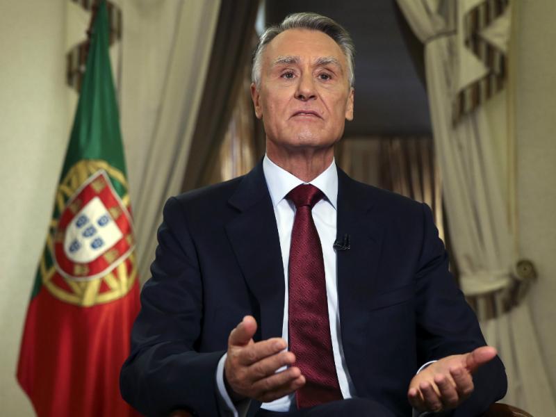 Cavaco Silva, durante a mensagem de Ano Novo 2014 (Inácio Rosa/Lusa)