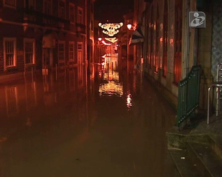 Chuva inunda Águeda