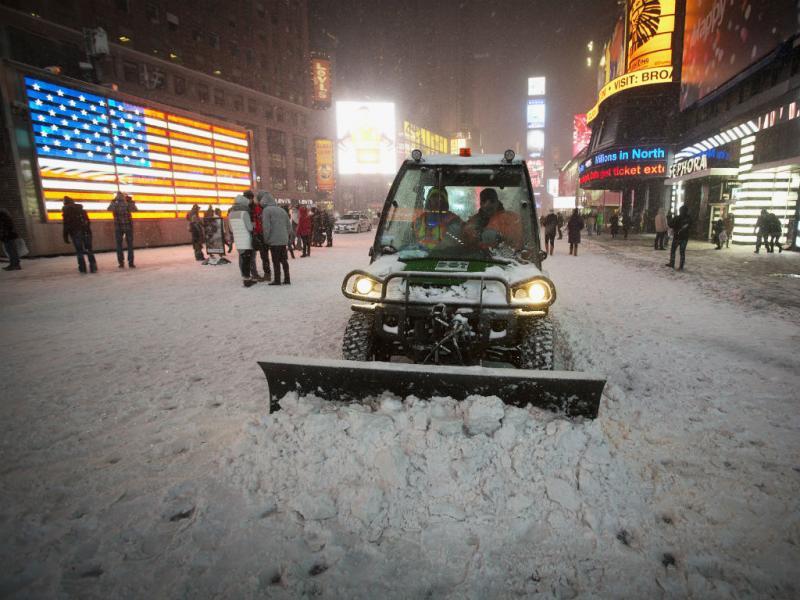 Tempestade de neve nos Estados Unidos (Reuters)