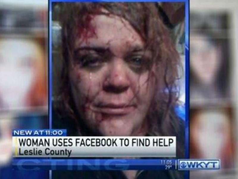#selfie salvou-lhe a vida [Reprodução]