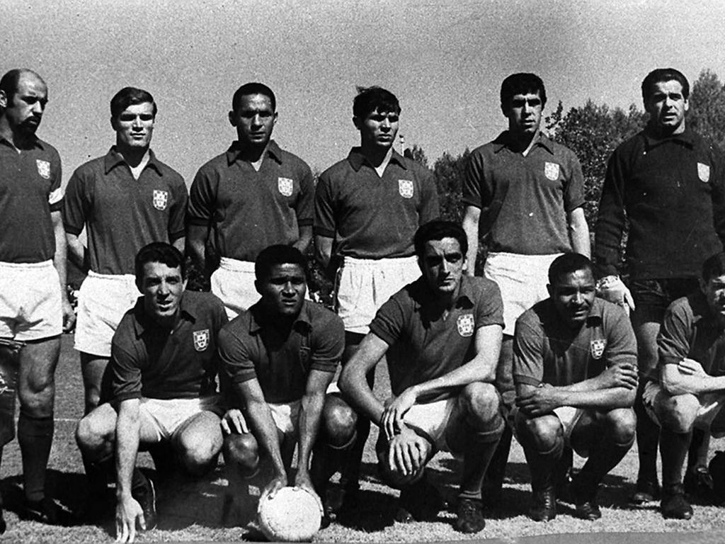 Eusébio na Seleção Nacional, 1966 (LUSA)