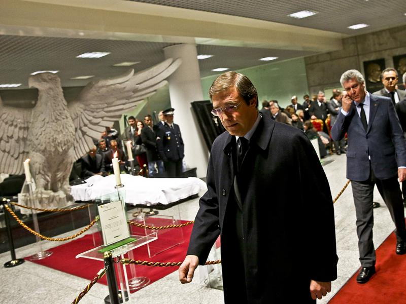 Cerimónias fúnebres de Eusébio (LUSA)