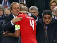 Maio de 2013, em Amesterdão na última final europeia do Benfica