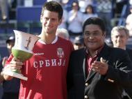 No Estoril Open, com Novak Djokovic