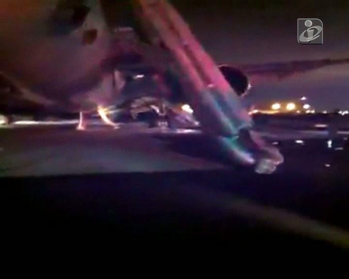Aterragem forçada em Medina faz 29 feridos