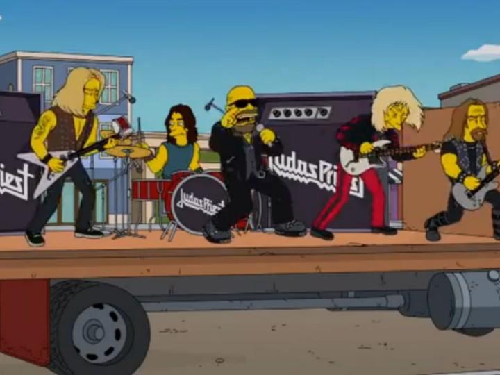 Judas Priest em «Os Simpsons»