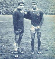 Américo e Eusébio em 1965