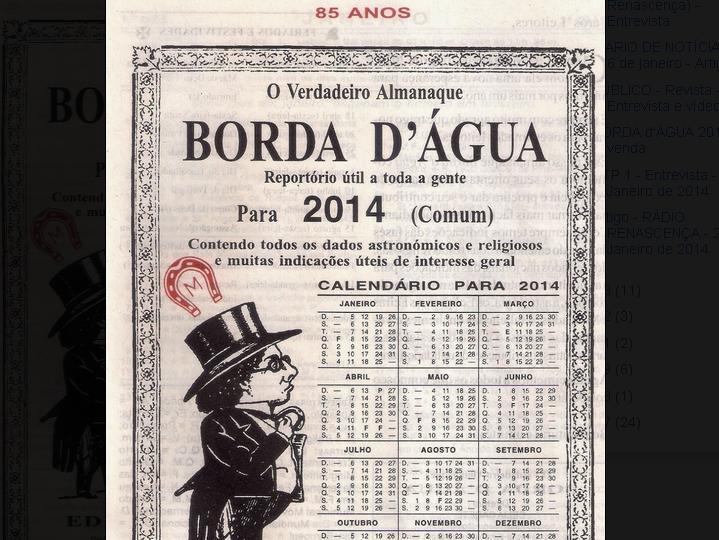 «Borda d`Água para 2014»