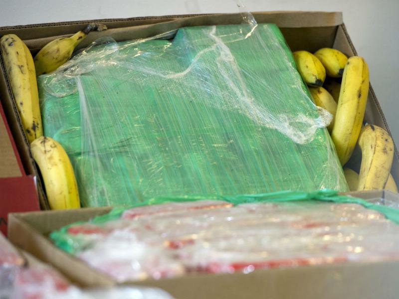 Entregaram a droga no supermercado (EPA/LUSA)
