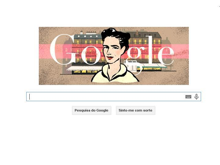 Google Doodle homenageia Simone de Beauvoir