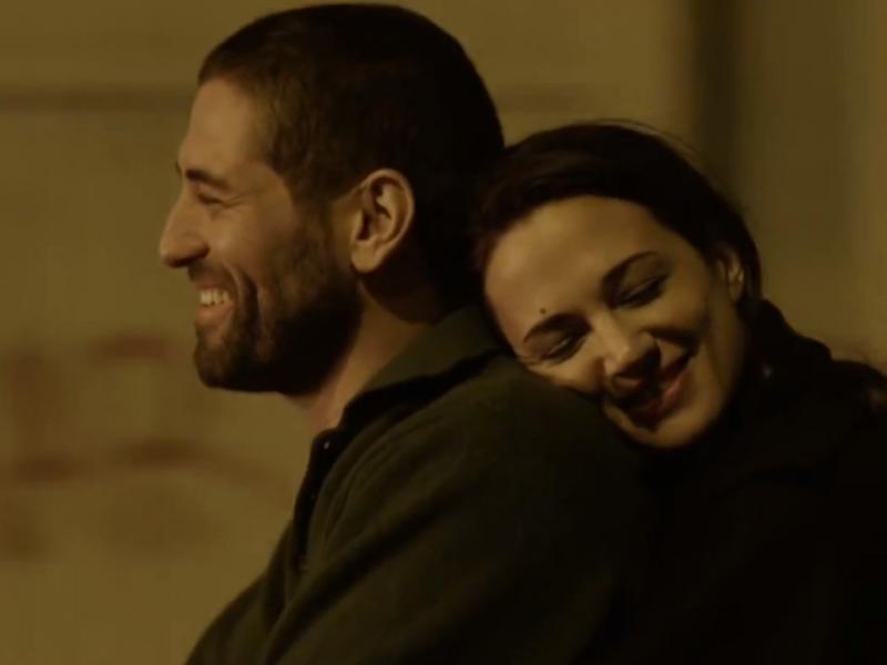 Nuno Lopes e Asia Argento em «Cadências Obstinadas»
