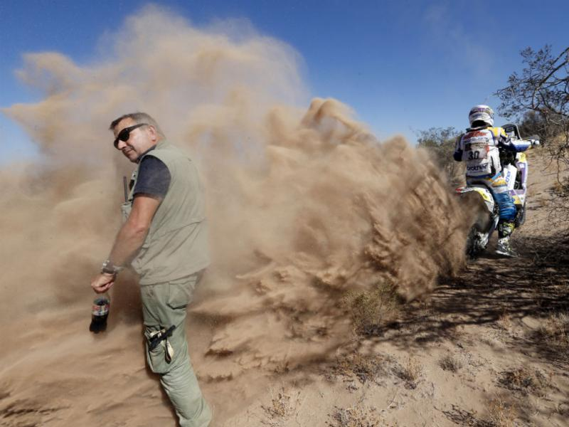 As melhores imagens da jornada do Dakar (Reuters)